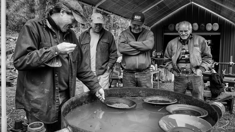 Panning for Gold, Liberty, Washington