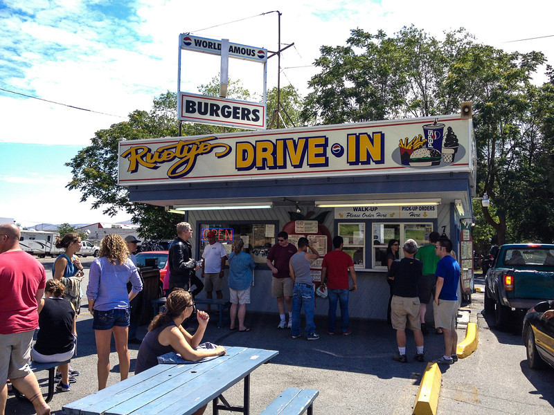 Rusty's Drive In.  Ehhh, not so good anymore.