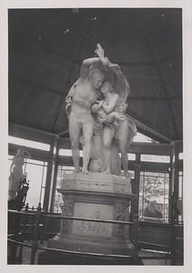 Statues in Ballarat Botanical Gardens