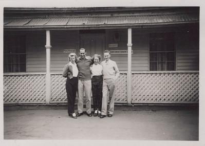 Mavis, Ray, Barb, Ron in Ballarat Gardens