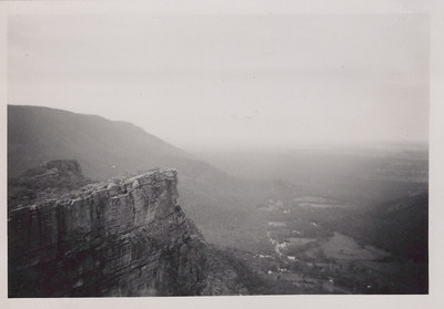 Halls Gap from Pinnacle Point