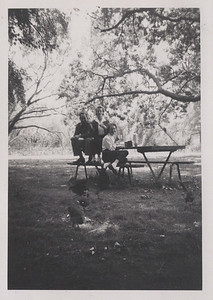 Ray, Mavis and Barb in Ballarat Gardens