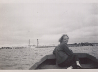 Boating on the river at Batemans Bay