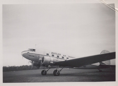 Butler Airlines operated Sydney-Moruya