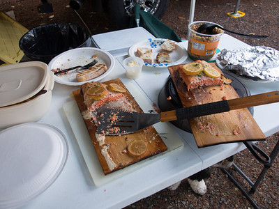 What was left of the Copper River Salmon