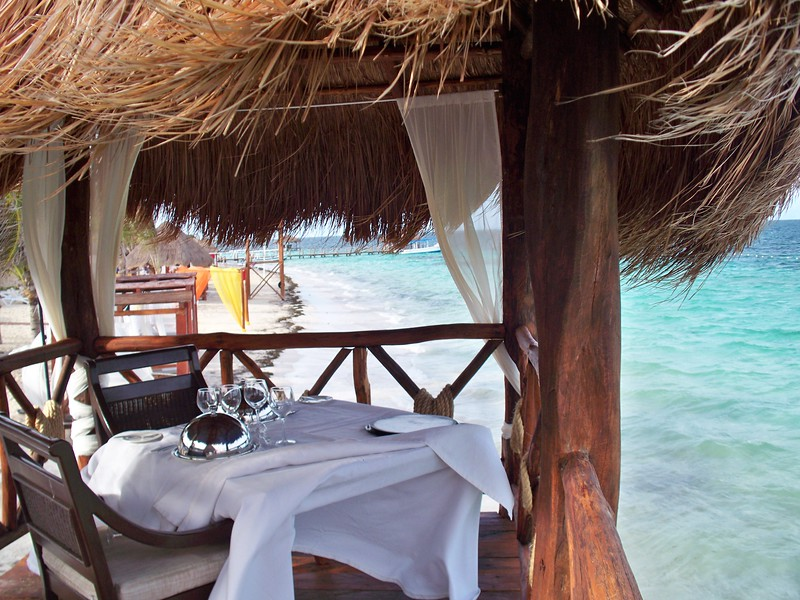 """For more information on Azul Sensatori, family vacations or a destination wedding, contact Romance@SandnSunVacations.com for more information. Please put """"Cherie"""" in the subject line."""