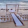 "Azul Sensatori beach wedding setup.<br /> <br /> For more information on Azul Sensatori, family vacations or a destination wedding, contact Romance@SandnSunVacations.com for more information. Please put ""Cherie"" in the subject line."