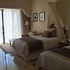Oceanview Jr. Suite with two beds.<br /> <br /> For more information on Dreams Los Cabos or any of the dreams resorts please contact Romance@SandnSunVacations.com