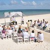 beach wedding<br /> <br /> For more information about Moon Palace contact Romance@SandnSunVacations.com