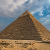 The Great Pyramid of Giza and the oldest of the seven ancient wonders. How the ancient Egyptians built them with sheer manpower is mind boggling.