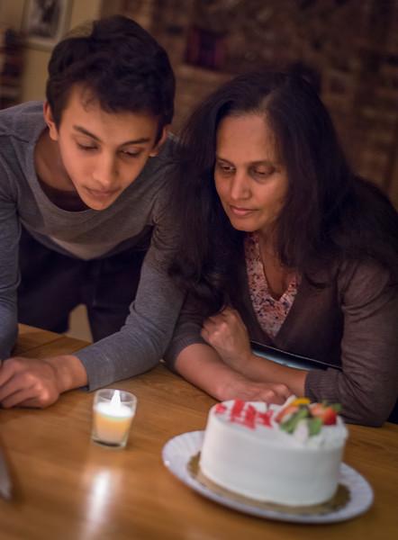 Neil and Nandini Birthday, 2016