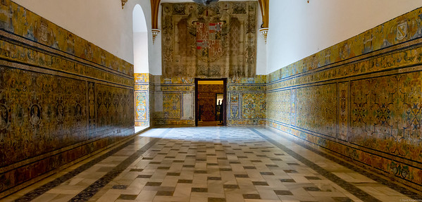 Alcazar of Seville.