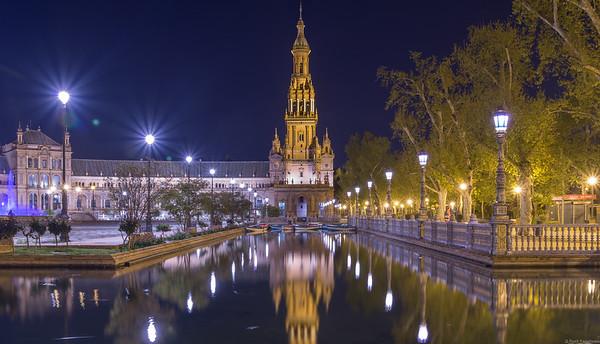 Plaza Espana, Seville.