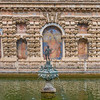 Alcazar of Seville was featured as the water gardens of Dorne in Game of Thrones.