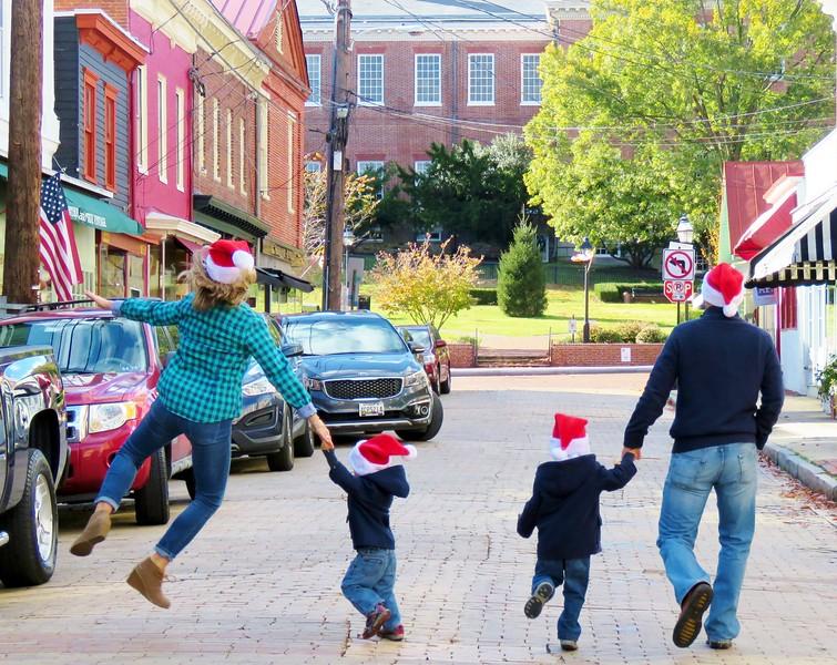 Christmas Photos Downtown Annapolis