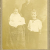 From left, Noel Benjamin,<br /> Ernest LeRoy, and Lucile Willsey<br /> Trenton, MO  c. 1899