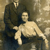Okey W. Reynolds (1886-1943) and his wife,<br /> Fannie (1890-1981).  Okey is the brother of Charles,<br /> Reuben, Marie, et al.  1912