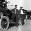 Adrian Jackson, left, and Ernest Willsey.<br /> Both worked at George Williams' store in Boise.<br /> Boise, ID  1911