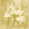 From left. Ralph, Rita, and Bess Roberts.<br /> Boise, ID  c. 1901