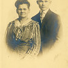"Susan Roberts and her son, Ralph ""Bud""<br /> Bud is the brother of Bess (Roberts) Willsey.<br /> Boise, ID  1914"
