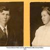 Thomas Edward Patton and his wife Florence Etta (Vance) Patton.<br /> 1911