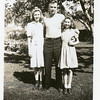 John McDonald and his youngest daughters,<br /> Cherry, left, and Dona.<br /> Bremerton, WA