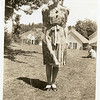 "Ruth Mae (Haberman) McDonald (1902 - 1984)<br /> Ruth writes, ""Isn't this goofy?  It's the perfect green<br /> country, lost, forlorn, friendless, me.""<br /> Bremerton, WA"