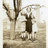 Ruth McDonald and two of her daughters,<br /> Cherry, left, and Dona.<br /> Bremerton, WA