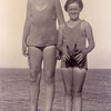 Kathryn L. Willsey, left, and<br /> her cousin Walter A. Miller (1914-1994)<br /> Long Beach, CA