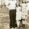 John McDonald and two of his<br /> three daughters, Dona and Cherry.<br /> Bremerton, WA