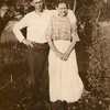 Thomas Edward Patton with his mother<br /> Mary Ellen (Vance) Patton (1868-1953)