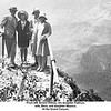 From left, Ernest Willsey, his daughter Kathryn,<br /> wife, Bess, and daughter Maurice.<br /> At the Grand Canyon.