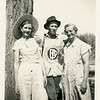 From left, Bessie Mae (Morgan) Willsey (1902-1968),<br /> her husband Noel (1899-1984), and his step-mother<br /> Zoa Willsey.  Boise, ID 1939