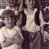 Kathryn, left, and Maurice Willsey.<br /> Celia Clinton elementary school<br /> West Tulsa, OK