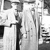 Ernest LeRoy Willsey, left,<br /> and his father Ben (1868-1947)