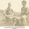Thomas Drew Reynolds, left, and his dad Reuben Hill Reynolds<br /> In Colorado