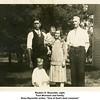 "Reuben H. Reynolds, right.<br /> Tack Morrison and family.<br /> Drew Reynolds writes, ""One of Dad's best crewmen"""