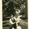 "Drew Reynolds writes, ""Tac' Morrison & family.<br /> Dad's tool dresser and friend."""