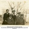 Family of Ora (Nowery) & Reuben H. Reynolds<br /> From left, Eldora Larue, Reuben Ray, Thomas Drew, Eugene Nowery, Jerry Arnold<br /> Hominy, OK