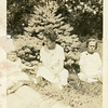 Bess (Roberts) Willsey with her<br /> daughters Kathryn, left, and Maurice.<br /> Trenton Park, Trenton, MO 1923