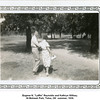 "Eugene N. ""Laffin"" Reynolds and Kathryn Willsey.<br /> At Mohawk Park, Tulsa, OK  summer, 1939."