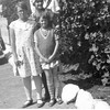 Front, Maurice and Kathryn Willsey.<br /> Center, their mother, Bess Willsey.<br /> Back, Walter and Fanny Miller.  Walter is the son of Bess' sister,<br /> Tess Lulu and Henry Miller.  Fanny is Walter's sister-in-law.<br /> Long Beach, CA