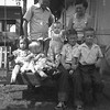 Ernest and Bess Willsey with their grandkids, from left,<br /> Kathy, Sue, Tom, Gene, and Jerry Reynolds.<br /> At the Willsey home, Tulsa, OK