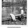 "Tom and Sue Reynolds hunting frogs<br /> at the Reynolds ""farm"" near Skiatook, OK.<br /> 7 May 1952"