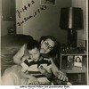 Jeffrey Warren Patton and grandmother Ruth<br /> (Haberman) McDonald at Patton home on N. Phoenix<br /> Tulsa, OK