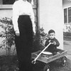 Kathryn (Willsey) Reynolds with her<br /> first child, Gene.<br /> At her parent's home, Tulsa, OK  Christmas day 1942
