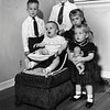 Reynolds siblings.  From left, Jerry LeRoy (5, 7m),<br /> Thomas Hill (9m), Eugene Nowery II (9y, 11m),<br /> Kathryn Louise (3y, 11m), Sue Ellen (2y, 5m)<br /> Tulsa, OK May 1950