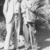 Gene Reynolds, center, his maternal grandfather<br /> Ernest Willsey, left, and Ernest's father Ben Willsey.<br /> At Ernest's home, Tulsa, OK  11 Oct 1942