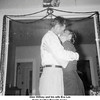 Glen Willsey and his wife Eva Lee<br /> At his brother Ernest's home.<br /> Tulsa, OK, Christmas 1955