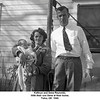 Kathryn and Gene Reynolds.<br /> With their son Gene at their home.<br /> Tulsa, OK  1940.